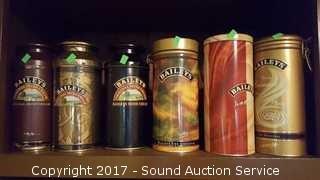 7 Baileys Irish Cream Tins