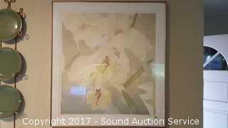 L/E A/S Susan Singleton Framed & Matted Serigraph