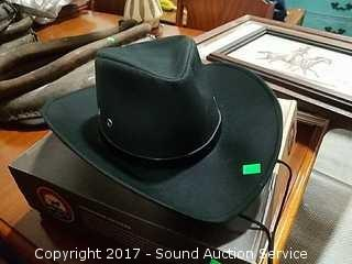 Like New Outback Riding Co. Wide Brim Cowboy Hat