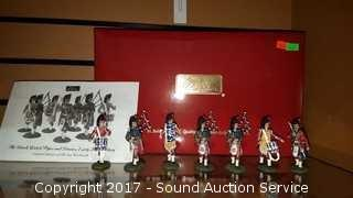 Black Watch Pipes & Drums Pewter Miniatures 1/300