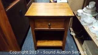 Whittier Wood Single Drawer Nightstand