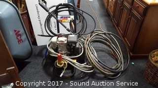 Honda Pressure Washer GC160 w/Hose & Nozzles
