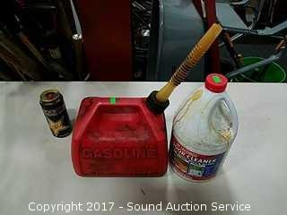 30 Seconds Outdoor Cleaner & Gas Can w/Gas