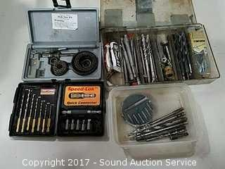 Collection of Drill Bits & Screwdriver Bits