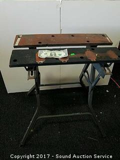 Craftsman Collapsible Portable Work Bench/Vice
