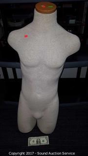 Male Soft Sculpture Mannequin