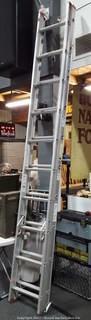 Werner D1120-2 Metal 17ft Extension Ladder