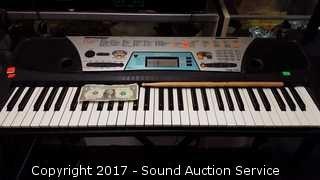 Yamaha PSR-170 Electronic Keyboard w/Stand