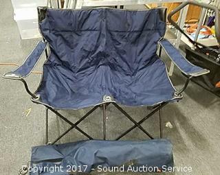 Nice 2 Seat Folding Camp Chair