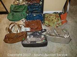 Lot of Ladies Designer Handbags