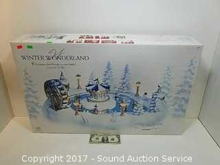 Winter Wonderland Animated Holiday Decor w/Box