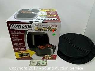 Nuwave Digital Brio Air Fryer w/Box & Carry Case