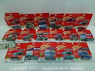 (17) NIP Johnny Lightning Die Cast Metal Cars