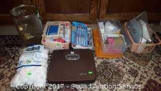 Bathroom Toiletries - First Aid Supplies, Scale