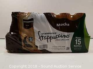 (15) Starbucks Frappuccino Chilled Coffee Drinks