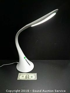 Ultrabrite LED Touch Desk Lamp w/2 USB Ports