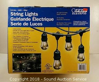 NIB Feit 48ft String Lights