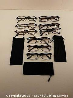 (9) Pairs of Reading Glasses