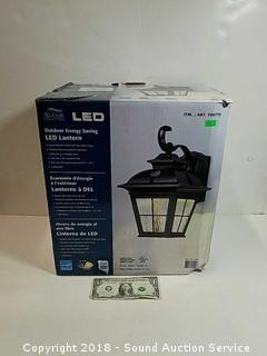 LED Outdoor Porch Light Lantern w/Box