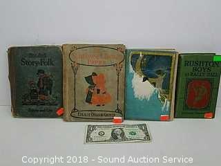 (4) Early 1900's Hardcover Books