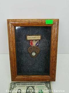 June 1929 Mansfield Ohio State Confederate Medal