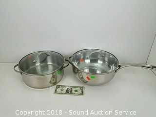 Princess House 4 QT Saucepan & Broil Pot