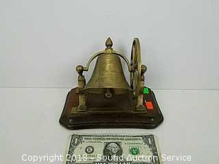 Vtg. Desktop Brass Bell
