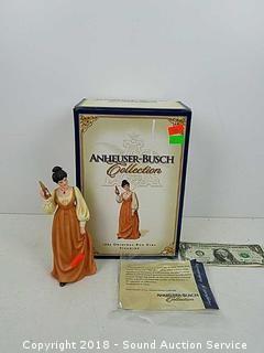 Anheuser-Busch 1883 Original Bud Girl Figurine