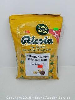 (2) Ricola 230ct. Bags of Natural Herb Cough Drops