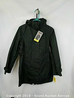 NWT Women's Charcoal Hooded Jacket - Small