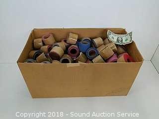 "Box of 1-1/2"" Fabric Rolls"