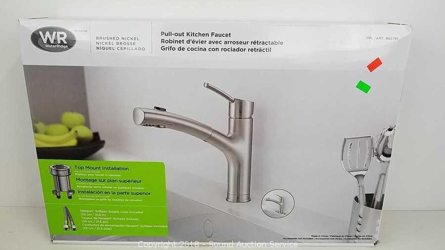 Sound Auction Service Auction 4 10 18 Store Returns Auction Item Water Ridge Pull Out Kitchen Faucet
