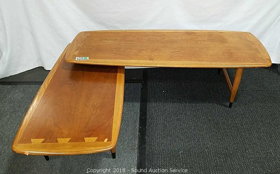 Lane Boomerang Coffee Table.Sound Auction Service Auction 05 22 18 Rustic Yard Art Home