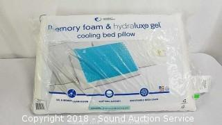 Comfort Revolution Memory Foam & Gel Cooling Pillow