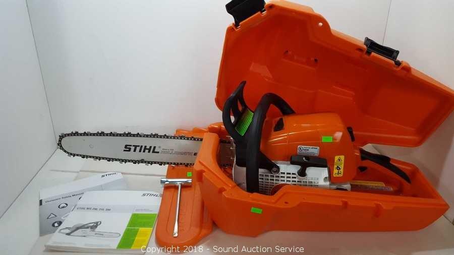 Sound Auction Service - Auction: 06/07/18 Tools Auction ITEM: Stihl