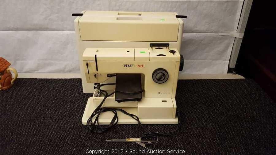Sound Auction Service Auction Campbell Estate Auction Part 40 ITEM Magnificent Sewing Machine Sound