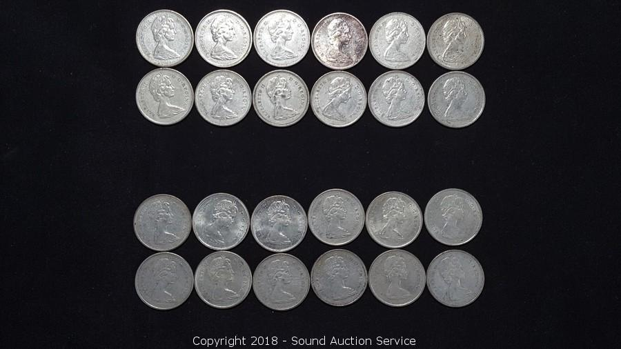 Sound Auction Service - Auction: 11/02/18 Coins & Currency